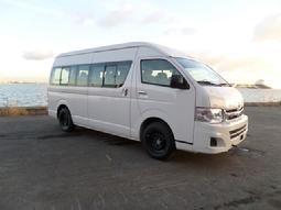 TOYOTA EXPORT DIESEL HIACE HIGH ROOF BELGIUM TO AFRICA